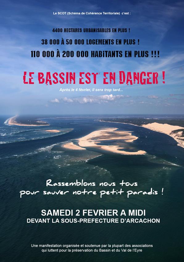 non à la destruction du Bassin d'Arcachon