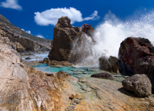 Natural Pool, Grands Fonds, St Barth. ©Stéphane Scotto